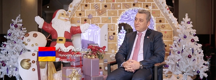 The Diplomat Specials 2019: Armenia (H.E. Mr. Arto Artinian)